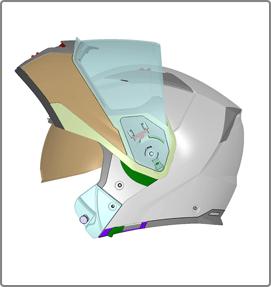 Tech Path progettazione e design caschi moto