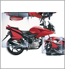 Tech Path progettazione e design box moto