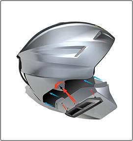 Tech Path progettazione e design caschi sci