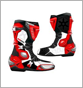 Tech Path progettazione e design stivali moto